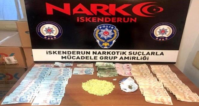 İskenderun'da uyuşturucu operasyonları: 16 gözaltı