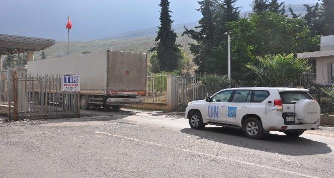BM'den Suriye'ye 6 tırlık insani yardım