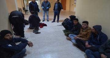 Kırıkhan'da Suriye uyruklu 30 kaçak göçmen yakalandı