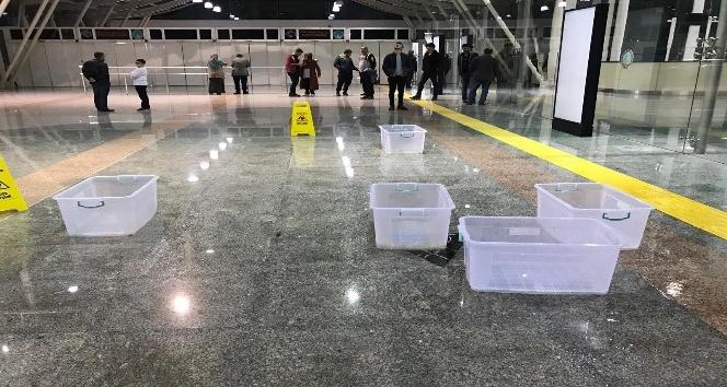 Çatısı Akan Hatay Havaalanı Onarılacak