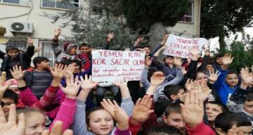 Kırıkhan'daki Öğrencilerden Yemen'e Yardım