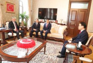Kore Büyükelçisi Hatay'da