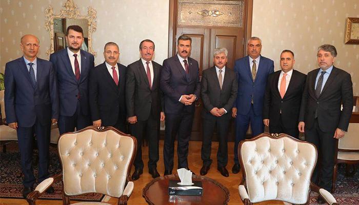 Belediye Başkanlarından Vali Doğan'a Ziyaret
