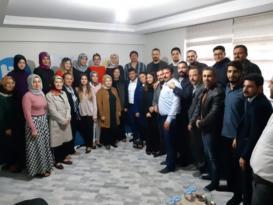 AK Parti Hatay Milletvekilinden TÜGVA'ya Ziyaret