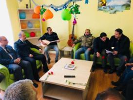 Toplum Ruh Sağlığı Merkezine ziyaret