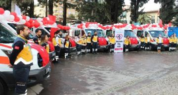 Sağlık Bakanlığı'ndan Hatay'a 6 ambulans