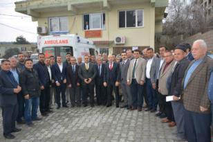 Kaymakam Bülent UYGUR, Altınözü Ziraat Odası Başkanı Sabahattin BAYIR ve yönetimine hayırlı olsun ziyareti.