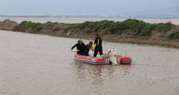 Sular altındaki Amik Ovası'nda haşereyle mücadele