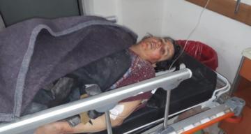 İdlip'te yaralanan 5 Suriyeli Kırıkhan'a getirildi