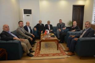 Altınözü Ziraat Odası Başkanı Sabahattin BAYIR' dan, Kaymakam Bülent UYGAR'a Ziyaret