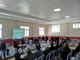 Zeytin Diyarı Altınözü ilçemizde Zeytin Yetiştiriciliği hakkında bilgilendirme toplantısı düzenlendi.