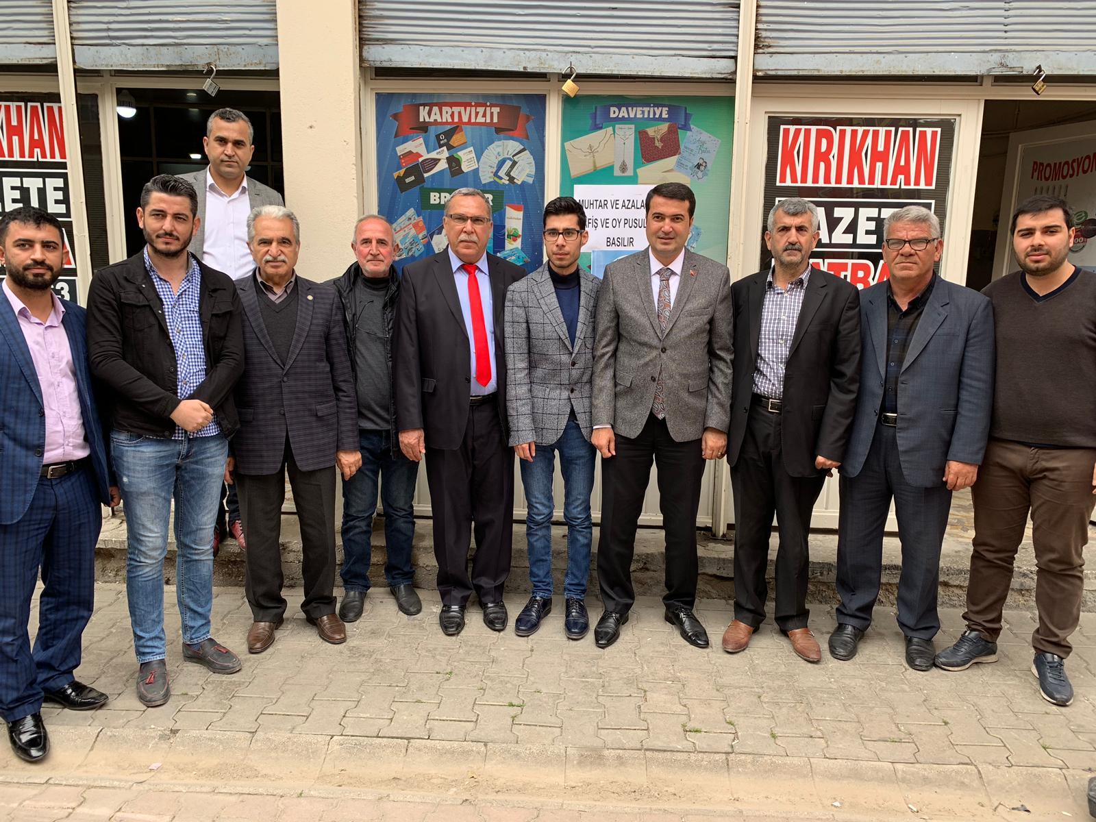YAVUZYILMAZ ''KIRIKHAN DEĞİŞİM İSTİYOR''