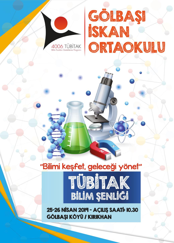 Gölbaşı İskan Ortaokulunda TÜBİTAK 4006 Bilim Fuarı Düzenlenecek.