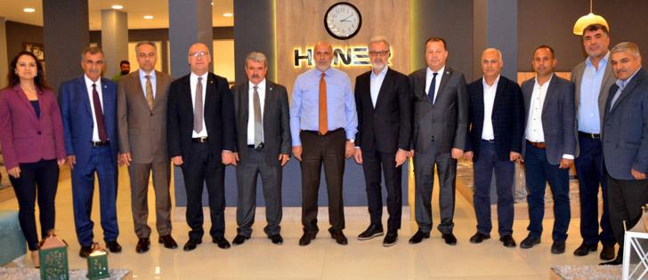 İTSO Yönetiminden Kırıkhan Ticaret ve Sanayi Odasına Nezaket Ziyareti