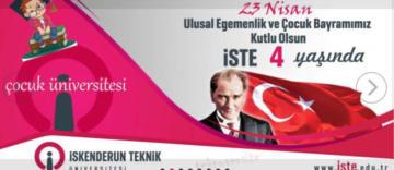 İSTE, 4'üncü Kuruluş Yıldönümü'nü 23 Nisan'da Kutlamaya Hazırlanıyor