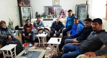 Talasemi Hastası Aziz Kurt'a Hatoder'den Ziyaret