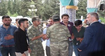 Şehit Ali Çeker Kırıkhan'da son yolculuğuna uğurlandı