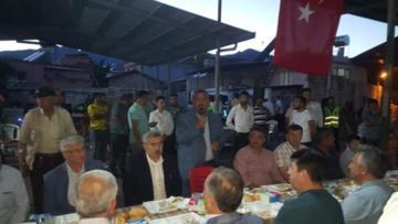 Mehmet KARATAŞ'IN İFTAR DAVETİNE BÜYÜK KATILIM