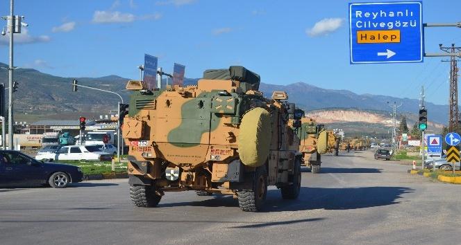 Suriye sınırına askeri personel sevkiyatı sürüyor