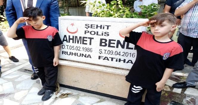 Şehit polisin çocuklarına özel sünnet konvoyu