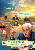 YAVUZ BÜLENT BAKİLER ANTAKYA'YA GELİYOR