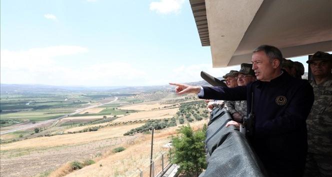 """Bakan Akar: """"Bir an önce bölgede huzuru ve sükunu sağlayacağız"""""""