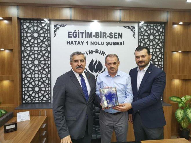 Milletvekilli Yayman'dan Bayrakdar'a Ziyaret