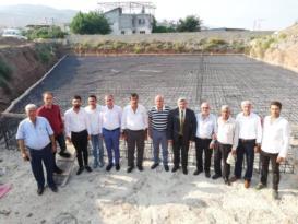 Milletvekili Yayman, TSO inşaatını gezdi
