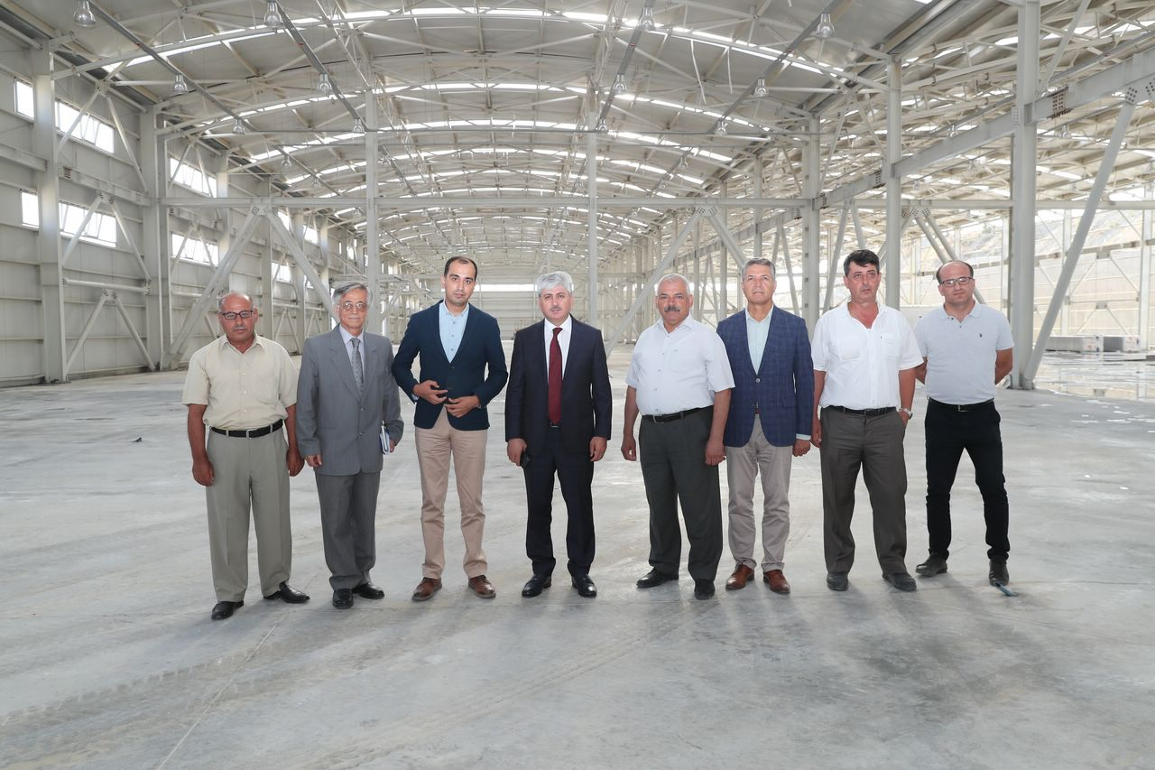 Vali Doğan Mobilyacılar İhtisas Sanayi Sitesi'nde