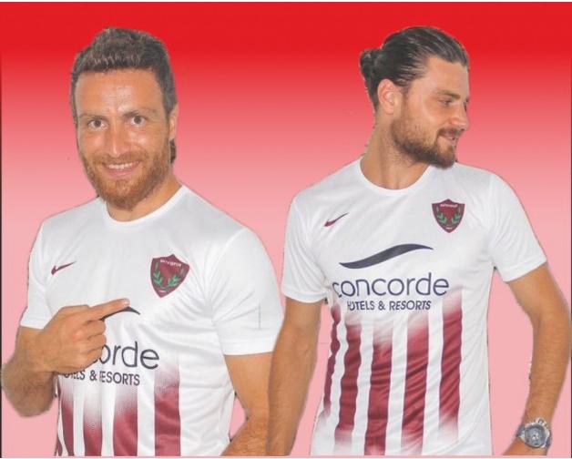 Hatayspor'un yeni formaları satışa çıktı