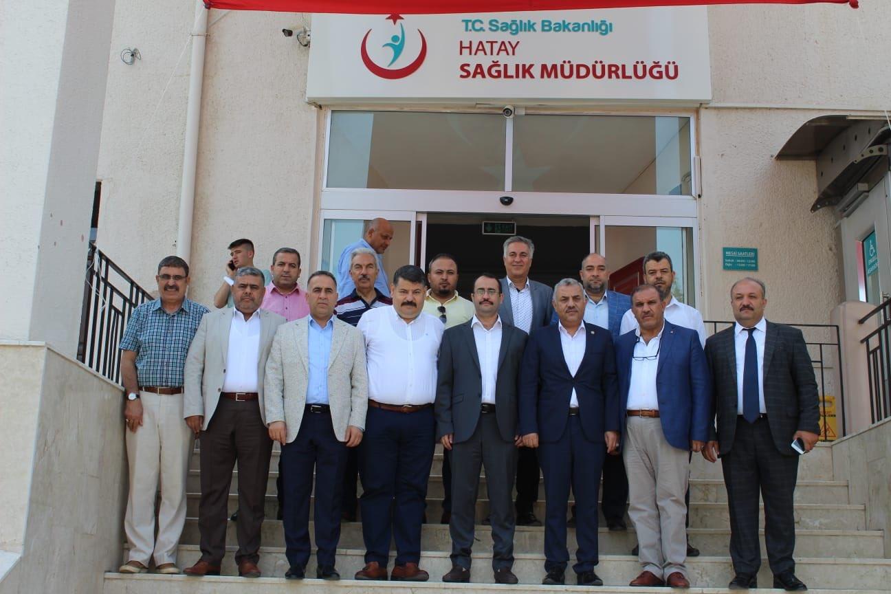 ŞANVERDİ'DEN HAMBOLAT'A ZİYARET