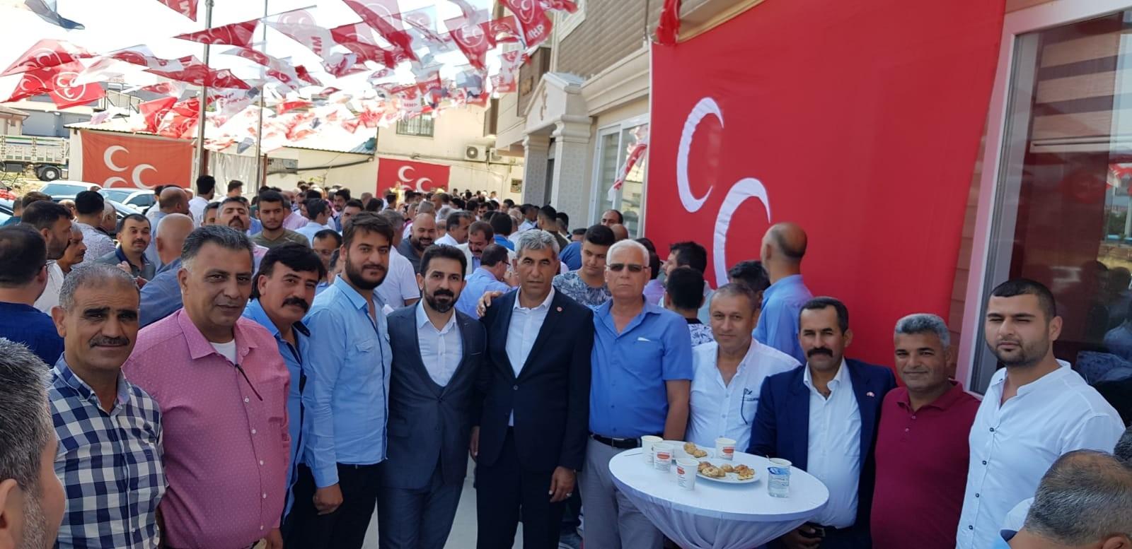 MHP'de Bayram Sevinci