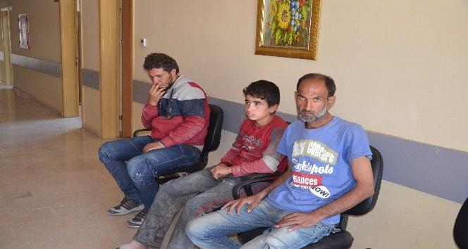 Kırıkhan'da 15 kaçak göçmen yakalandı