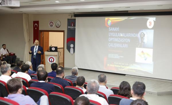 Ulusal Makina Teorisi Sempozyumu İSTE'de Gerçekleştirildi
