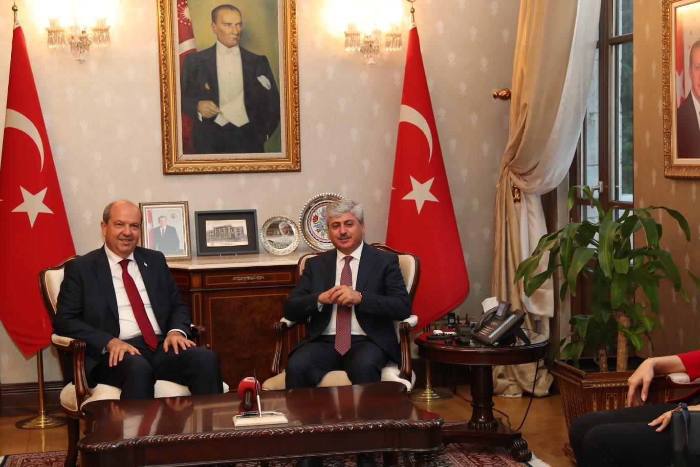 Başbakan Tatar'dan Vali Doğan'a Ziyaret