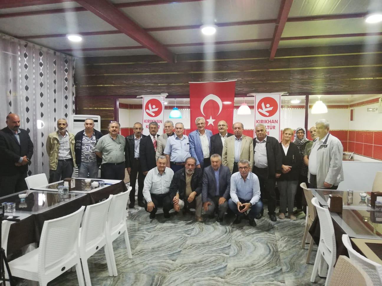 """""""KIRIKHAN KÜLTÜR ve SANAT DERNEĞİ  """"AHISKA"""" SÜRGÜNÜ'NÜ KONUŞTUK"""""""