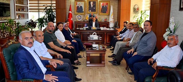 MHP'li Başkanlar Belen'de