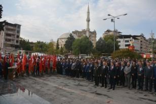 Kırıkhan'da Ulu Önder Atatürk Saygıyla Anıldı