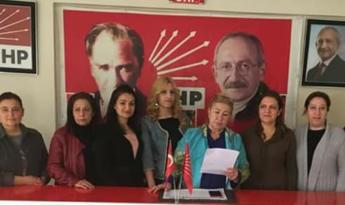 CHP Kırıkhan Kadın Kollarından, kadına yönelik şiddete karşı açıklama