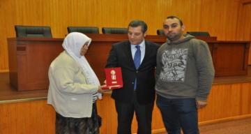 Dörtyol'da, Kıbrıs gazilerine madalya ve beratları tevdi edildi