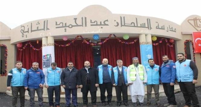 Türk Diyanet Vakfı'ndan İdlibli yetimlere ziyaret