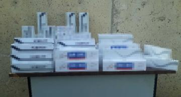 Kırıkhan'da bin 490 paket kaçak sigara ele geçirildi