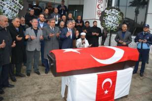 Aydın Falay'a Son Görev