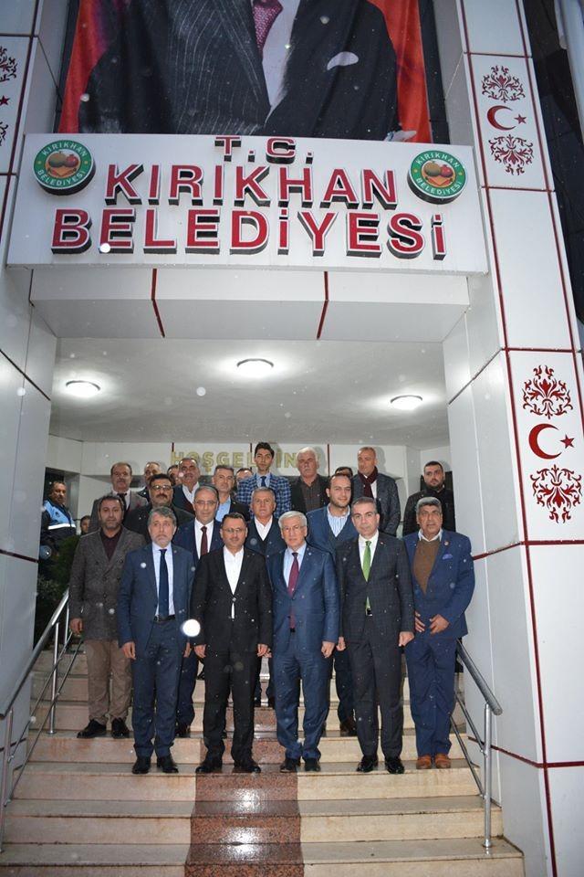 BAŞKAN  YAVUZ AK PARTİ GENEL MERKEZİNDEN TAM NOT ALDI