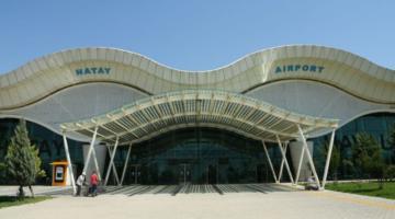 Kasım Ayında Hatay Havalimanı'nda 105.179 Yolcuya Hizmet Verildi