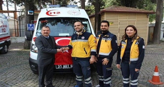Hatay'da acil ambulans filosu genişliyor