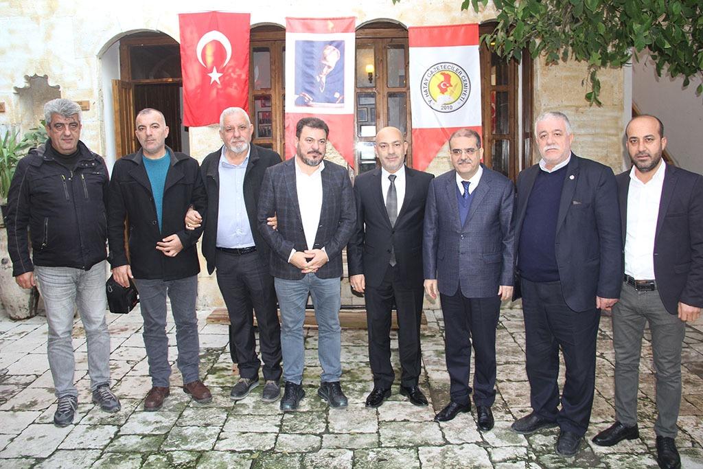 MKÜ REKTÖRÜ PROF. DR. KAYA İLE BAŞKAN KOKUSEVER'DEN HGC'YE ZİYARET