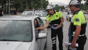 HATAY'DA TRAFİK DENETİMLERİ DEVAM EDİYOR