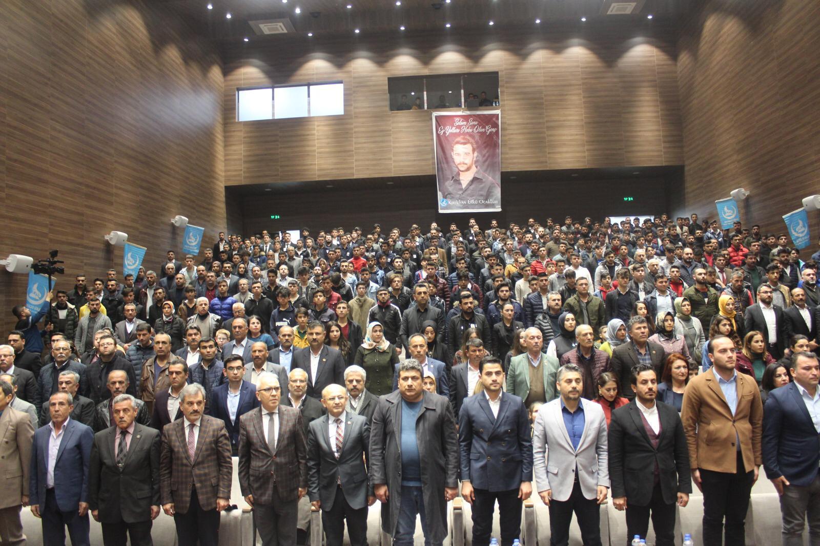 Kırıkhan Ülkü Ocakları Çakıroğlu'nu Andı