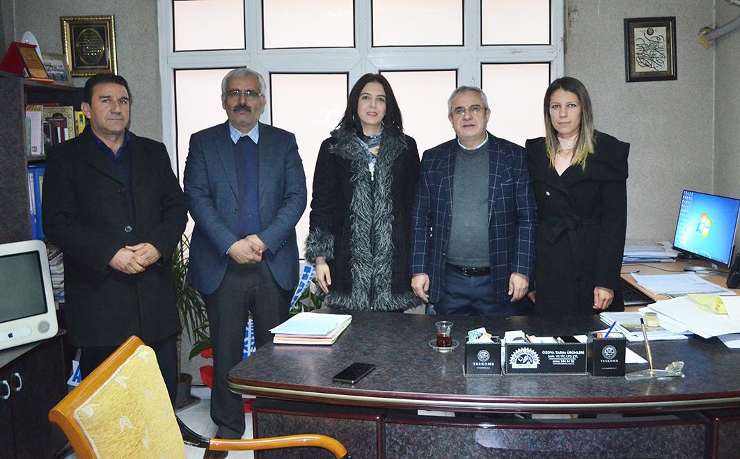 CHP'LİLERDEN OLAY'A ZİYARET